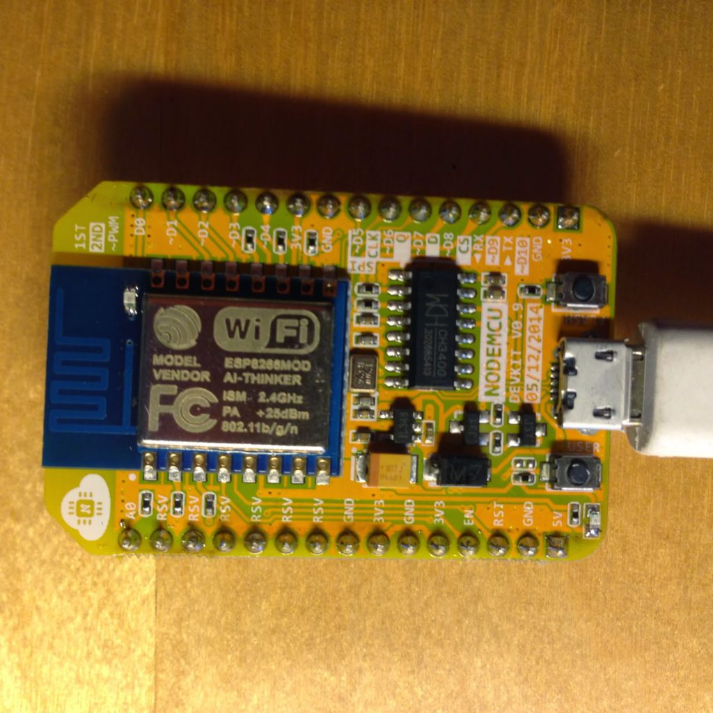 Esp8266 Module Comparison Esp 01 05 12 201 Test Different Types Of Circuit Boards Board And Nodemcu Squix Techblog