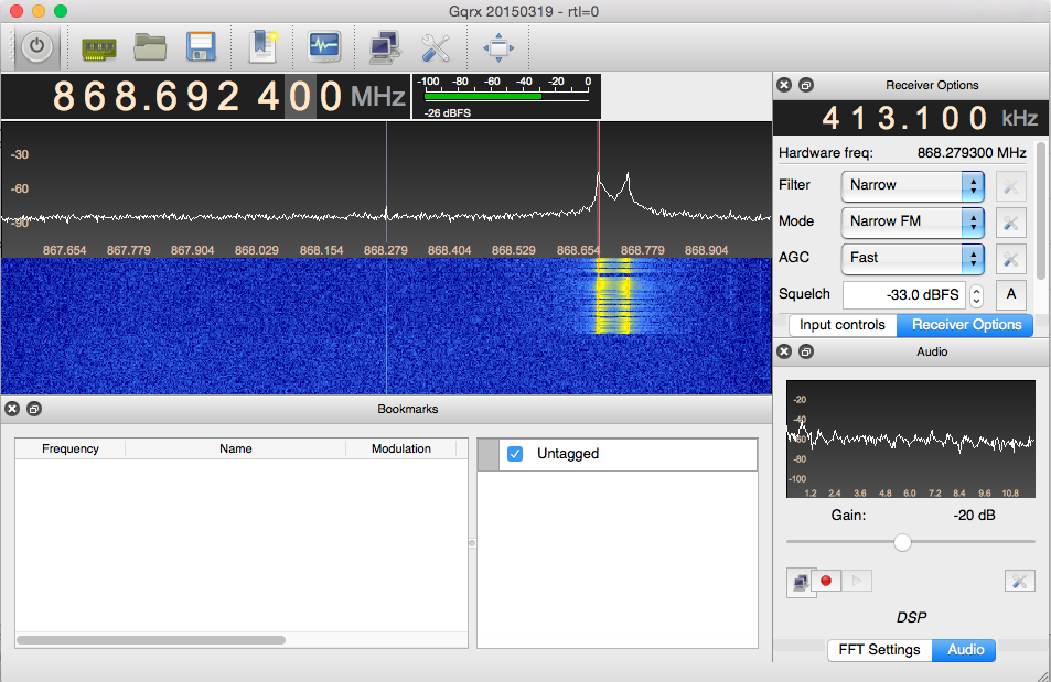 How to get started with Software Defined Radio on Mac OS X
