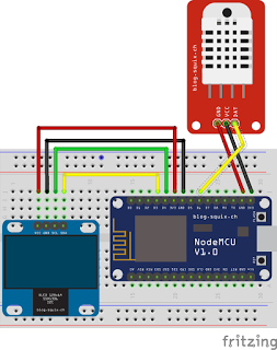 Esp8266 Weather Station Measuring Inside And Outside